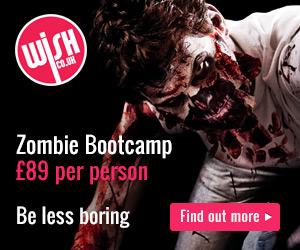 Zombie Bootcamp Experience Birmingham