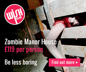 Zombie Manor House Experience-Warrington