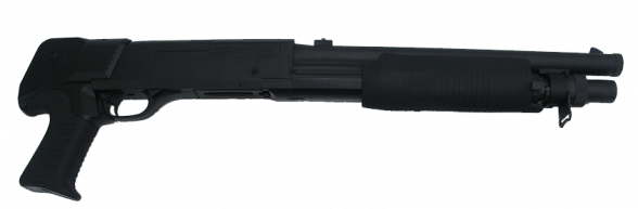 Zombie Pump Action Shotgun