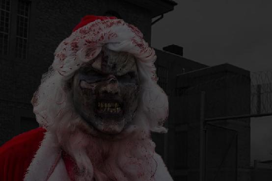 Zombie Christmas Prison Special Bath